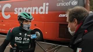 Guarda Con Cesare Benedetti al #Giro103